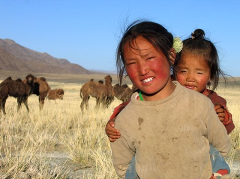 two-mongolian-girls-credit-shawna_peckham-snow-leopard-trust